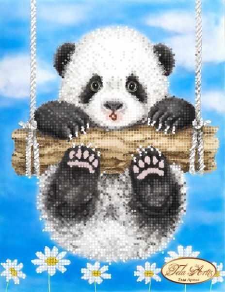 ТМ-096 - Ромашковая панда - схема (Tela Artis)