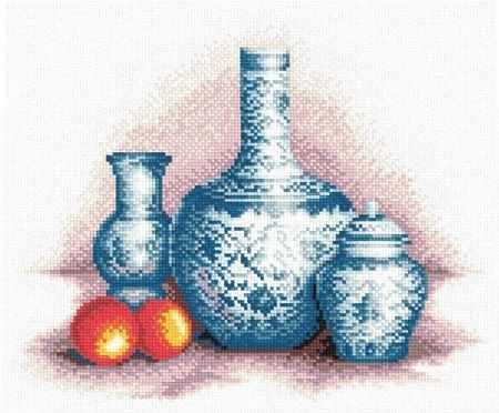 """В-0087 """"Голубые вазы"""""""