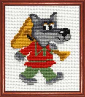 В-04 Веселый волчонок