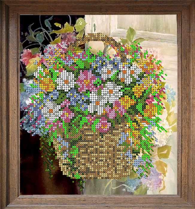 В214 Полевые цветы - схема