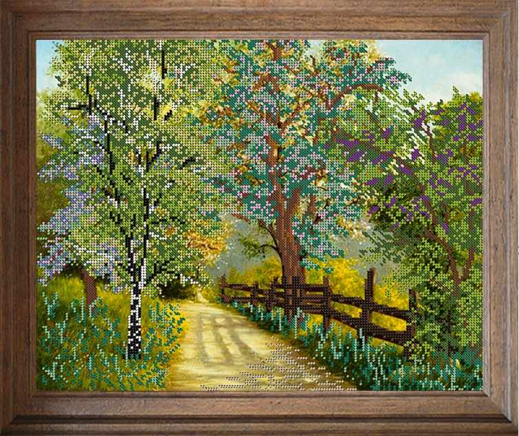 В519 Весенний сад - схема