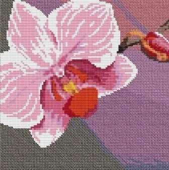 ВЦ-010 Орхидея 1 - набор (Орнамент)