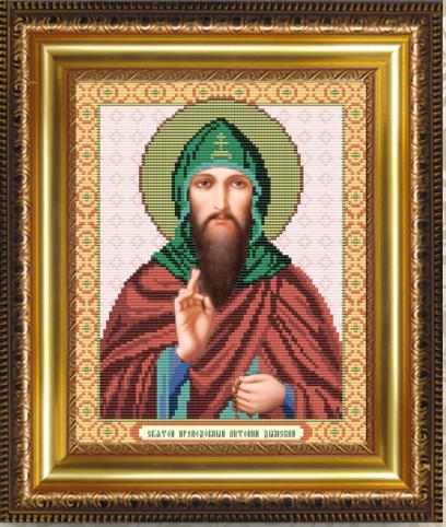 VIA4033 Св. Преподобный Антоний - схема (Art Solo)