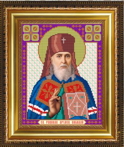 VIA4054 Св. Равноапостольный Архиепископ Николай - схема (Art Solo)