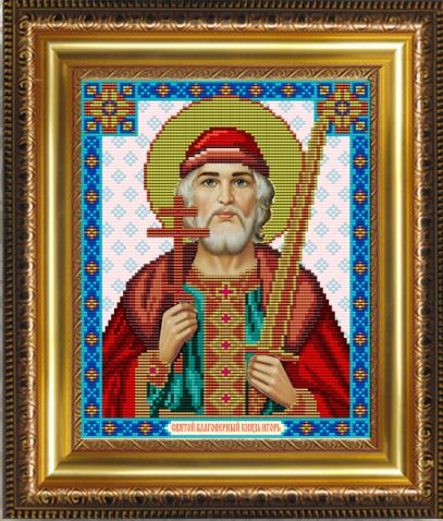 VIA4065 Св. Благоверный Князь Игорь - схема (Art Solo)