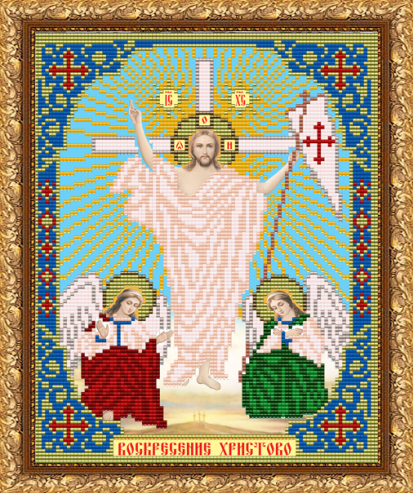 VIA4230 Воскресение Христово - схема (Art Solo)