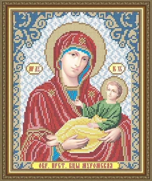 VIA4260 Муромская Образ Пресвятой Богородицы - схема (Art Solo)