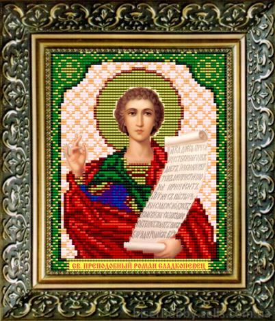 VIA5031 Св. Преподобный Роман Сладкопевец - схема (Art Solo)