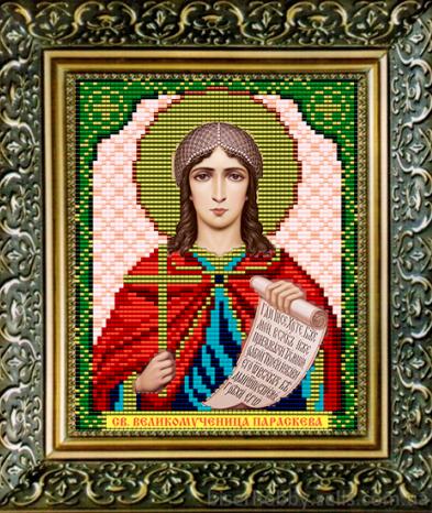 VIA5040 Св. Великомученица Параскева - схема (Art Solo)