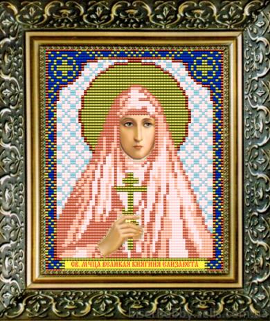 VIA5052 Св. Мученица Великая Княгиня Елизавета - схема (Art Solo)