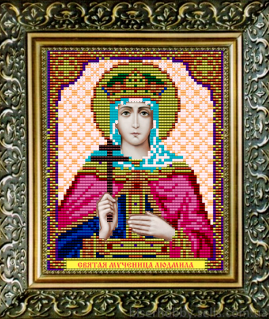 VIA5056 Св. Мученица Людмила - схема (Art Solo)