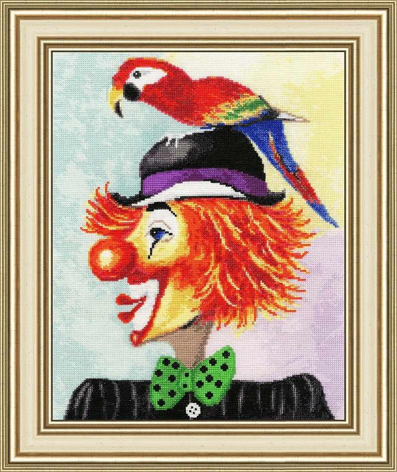 ВК-030 Клоун с попугаем