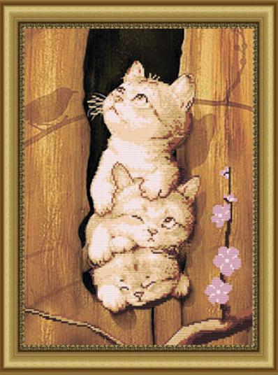 VKA3015 Это мы - коты - схема (Art Solo)