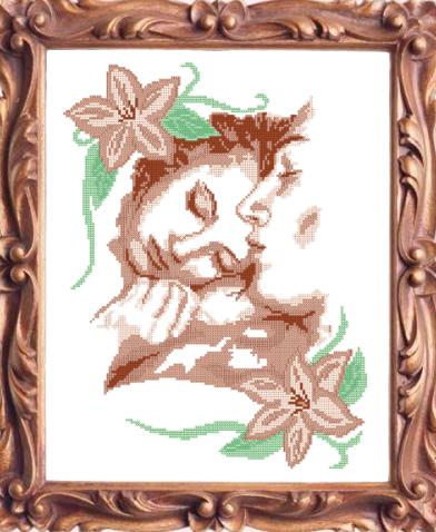 VKA3017 Влюбленные - схема (Art Solo)