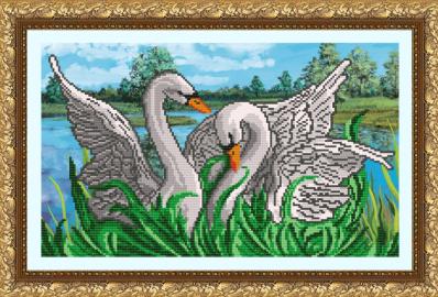 VKA3028 Лебединая верность - схема (Art Solo)