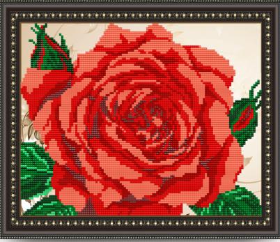 VKA4109 Роза - схема (Art Solo)