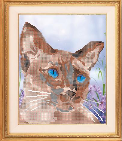 VKA4334 Сиамский кот - схема (Art Solo)