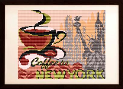 VKA4403 На кофе в Нью-Йорк - схема (Art Solo)