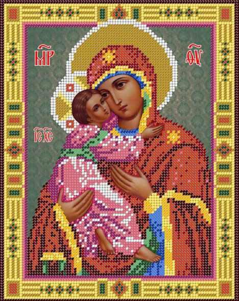 Владимирская икона Божьей Матери (Простор)