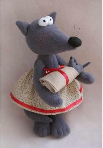 """W001 """"Wolf s Story"""" набор для изготовления игрушки"""