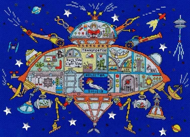 XCT28 Cut Thru Spaceship (BT)