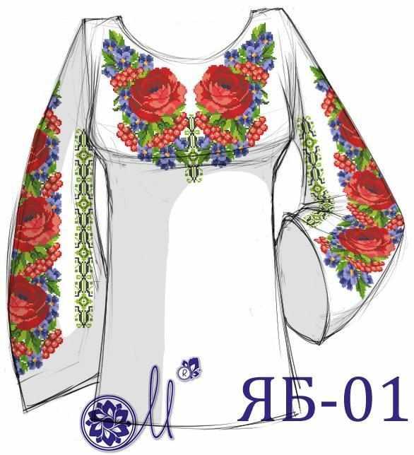 ЯБ-01 Заготовка рубашки (Мережка)