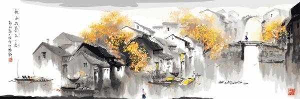 Z-016 Панно Китай - мозаика Милато