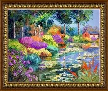 Z-141 Яркие краски - мозаика Милато