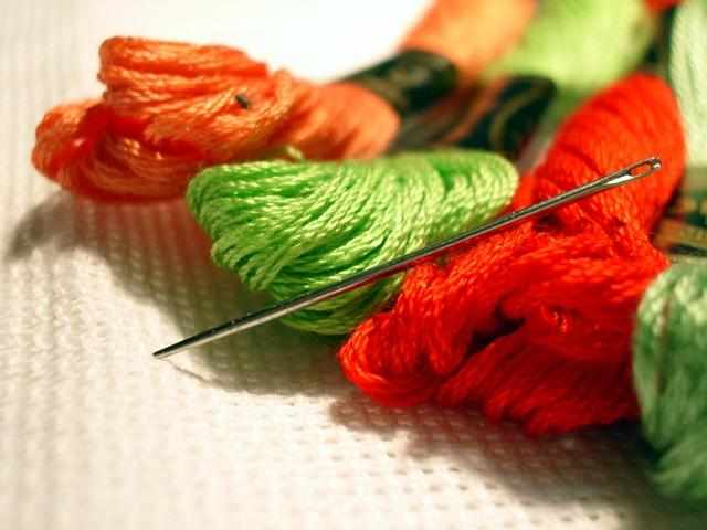 Вышивка нитками мулине