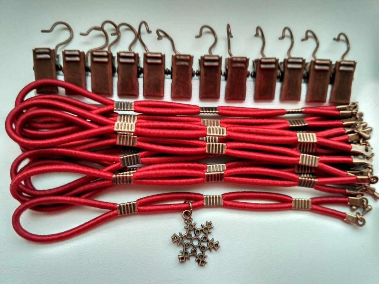 005021 Боковая натяжка плотная, рубиновый закат