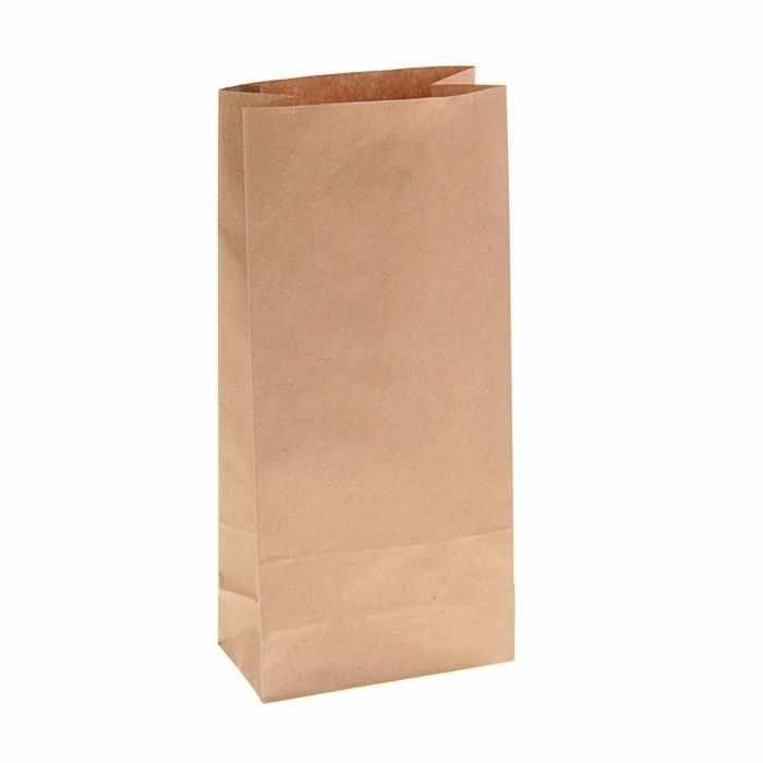1225529 Пакет крафт бумажный фасовочный