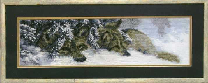 """436 """"Волки в снегу"""" - чм"""