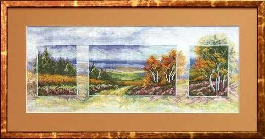 """536 """"Осень.Триптих""""  - чм"""
