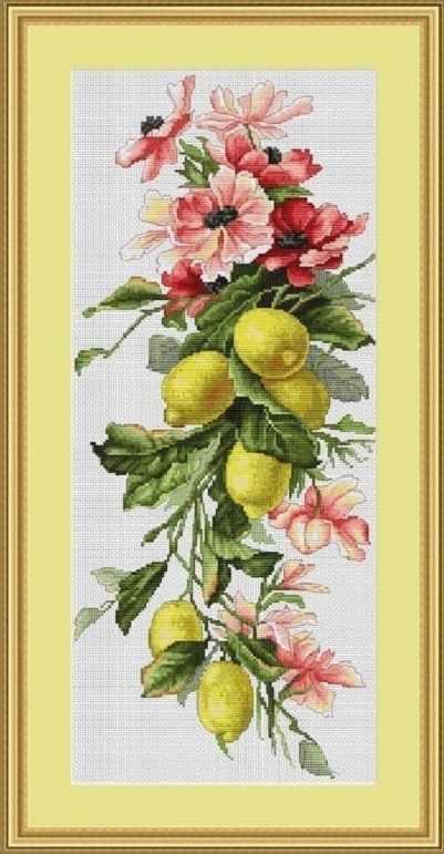 B210 Композиция с лимоном
