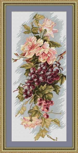 B0212 Композиция с виноградом (Luca-S)