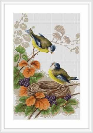 B0215 Птички у гнезда (Luca-S)