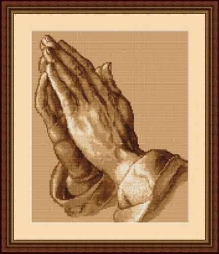 B0350 Молящиеся руки (Luca-S)