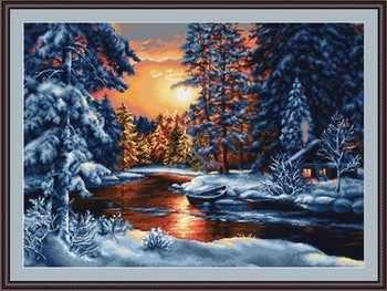 B0477 Зимний закат (Luca-S)
