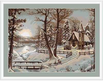 G321 Зимний пейзаж