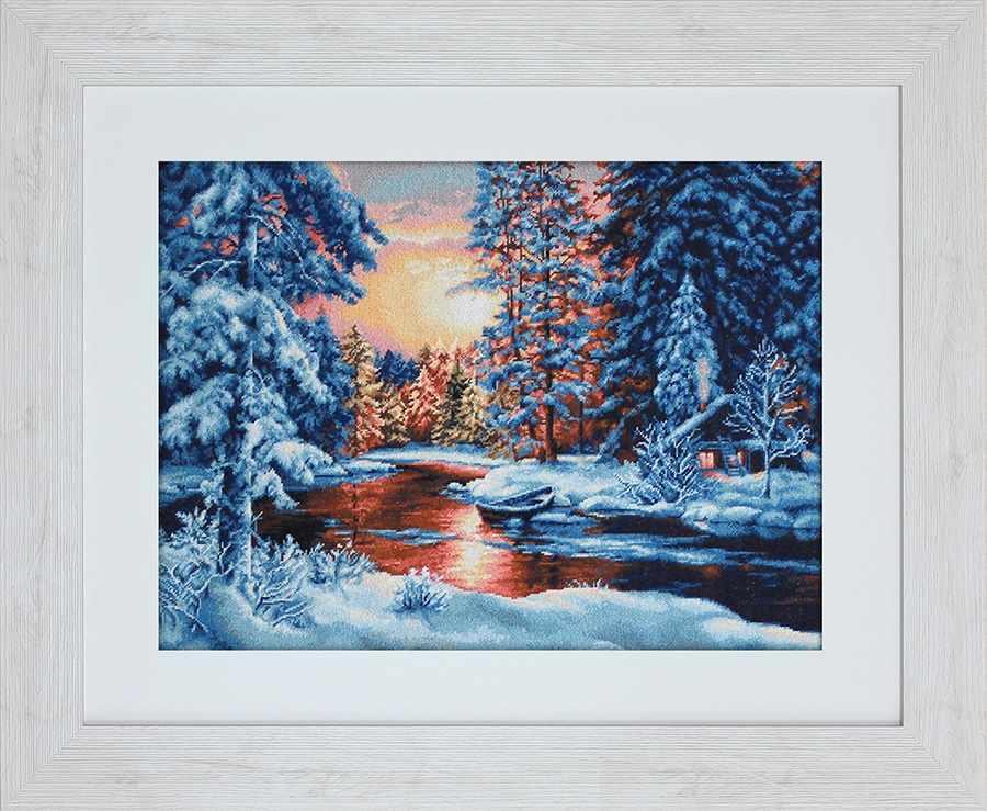 G477 Зимний закат
