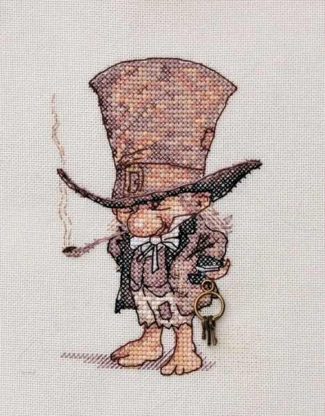 """МН-02 """"Джентльмен в шляпе"""" (Neocraft)"""