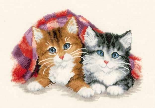PN-0145022 Котята под одеялом