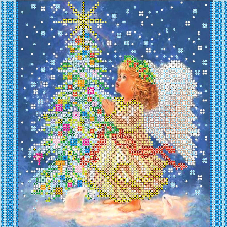 """АС-048 """"Новогодняя звезда"""" - схема для вышивания (Абрис Арт)"""