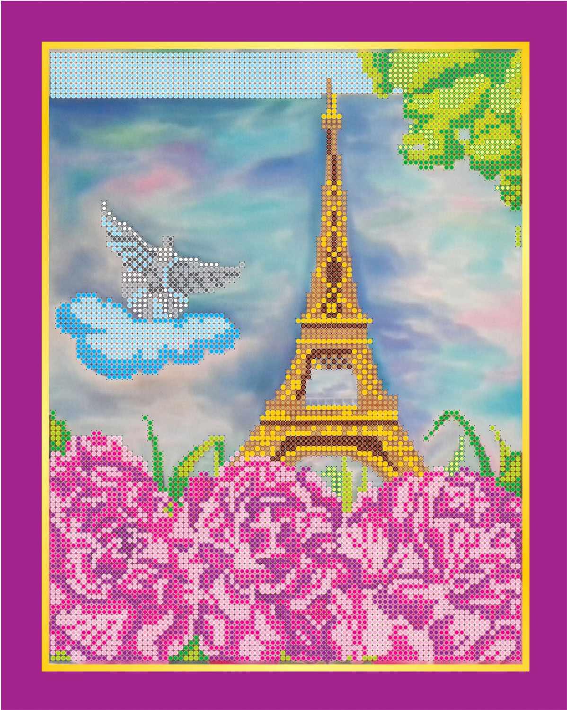 """АС-107 """"Париж"""" - схема для вышивания (Абрис Арт)"""
