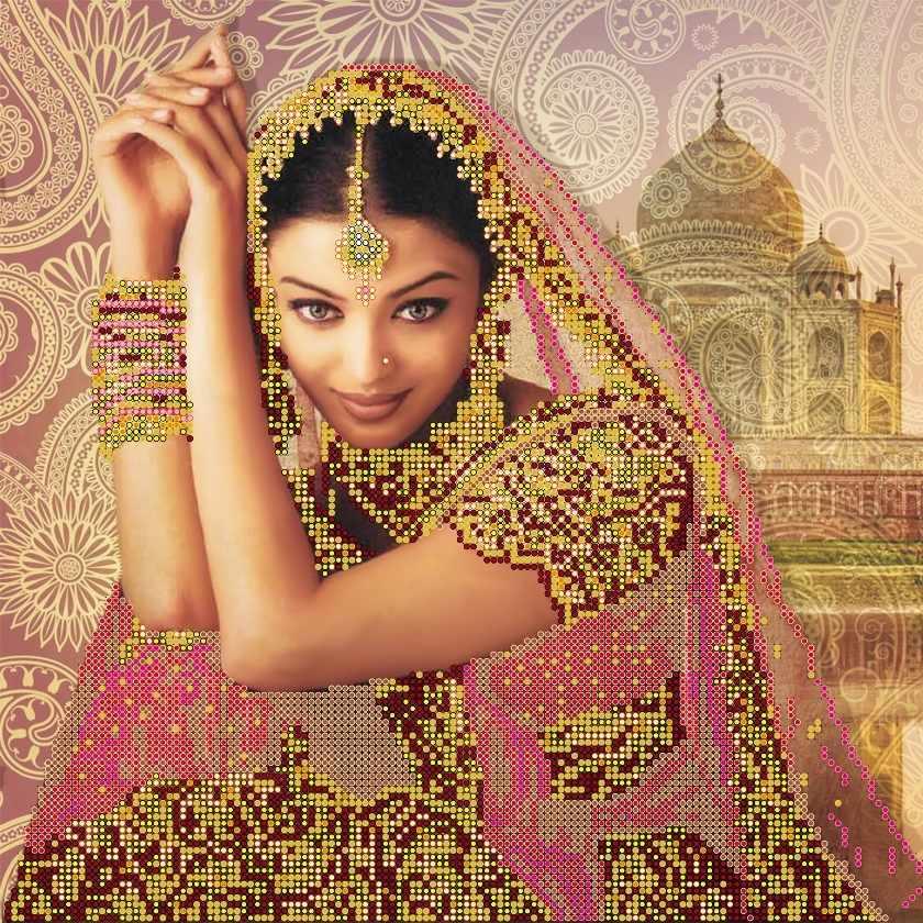 "АС-142 Схема ""Цветок Индии"""