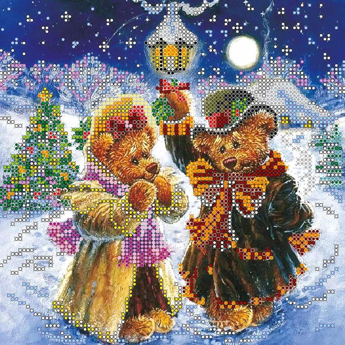 """АС-074 """"Искры волшебной зимы"""" - схема для вышивания (Абрис Арт)"""