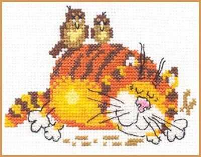 0-001 Ленивый кот