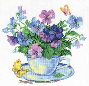 2-01 Утренние цветы