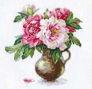 2-21 Цветущий сад: Пионы