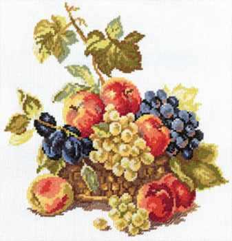 5-04 Яблоки и виноград